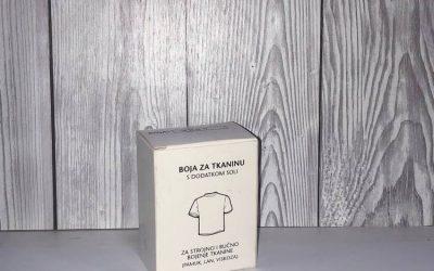 BOJANJE TKANINE- Boje za tkaninu za ručno bojanje i bojanje u perlici rublja